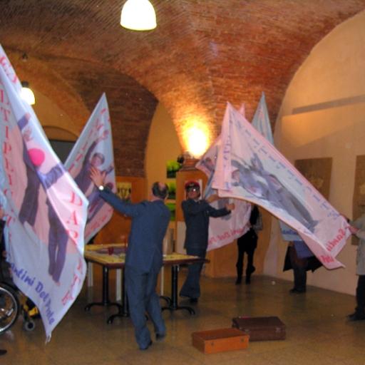 Confronti 2012 Bottega del Caffè, Livorno -21/01/2012- Creativité Multiplicité Solidarieté con Giovanni Mastromarino
